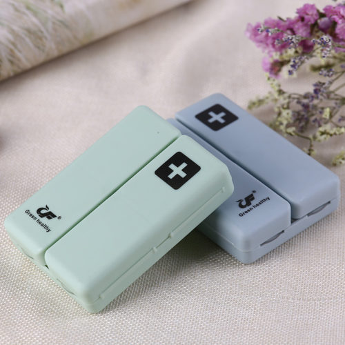 Small Pill Dispenser Portable Box