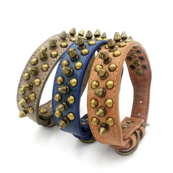 Spiked Dog Collar Cool Pet Collar