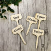 Plant Tags Bamboo Garden Accessories