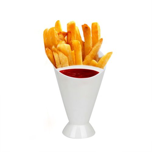 French Fry Holder 2-in-1 Cup