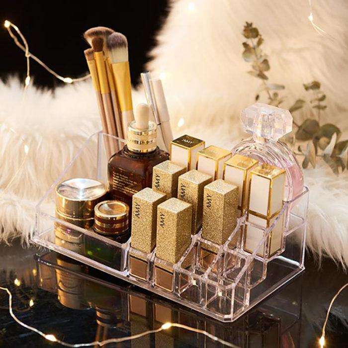 Lipstick Stand Clear Makeup Organizer