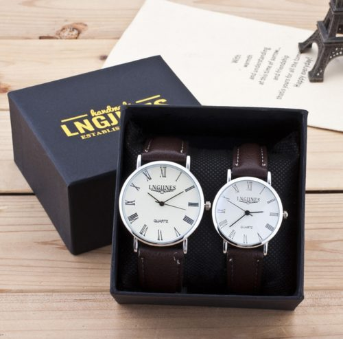His and Hers Watch Set Timepieces