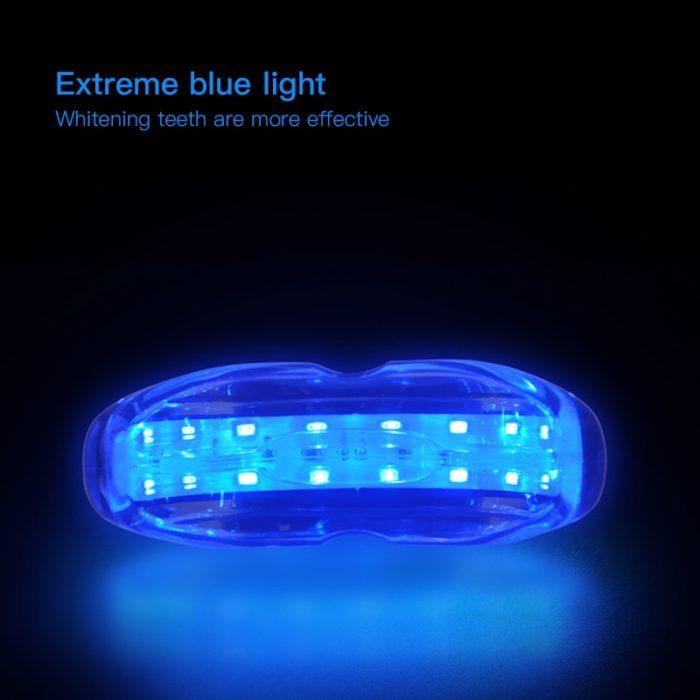 LED Teeth Whitening Kit Blue Laser Light