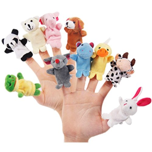Animal Finger Puppets Educational Toys (10pcs.)