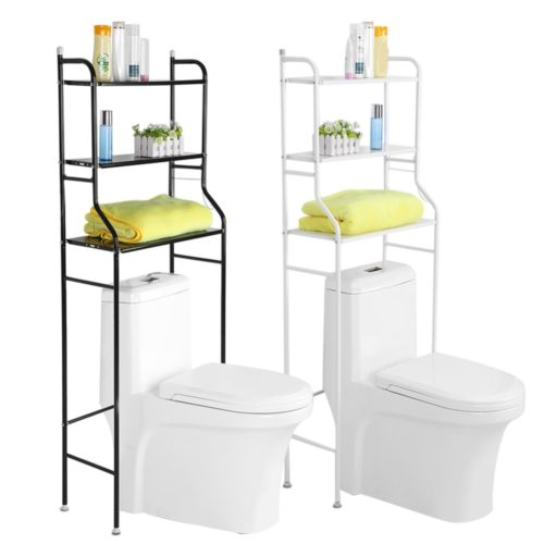 Over the Toilet Ladder 3-Tier Rack