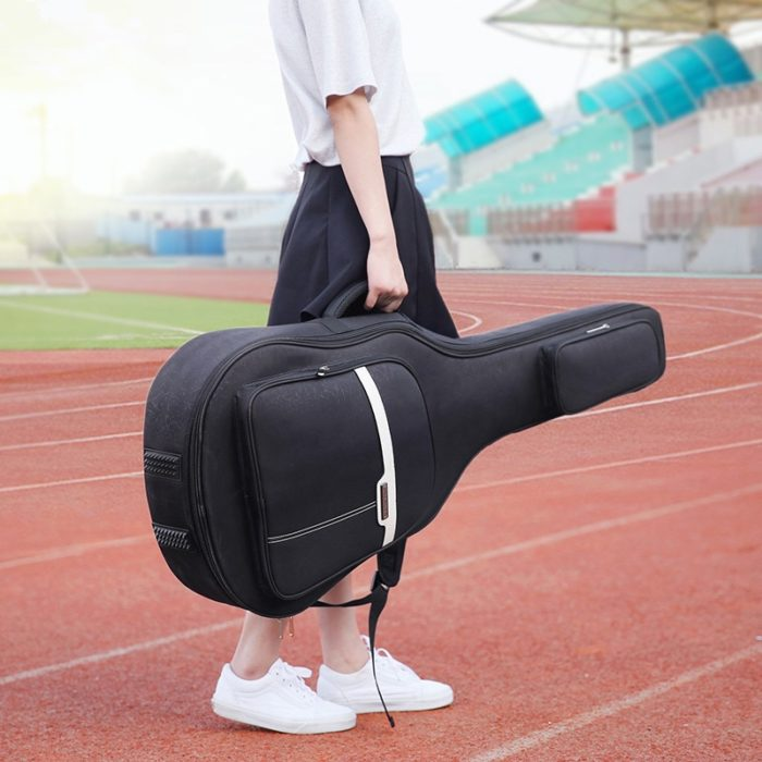 Guitar Gig Bag with Double Shoulder Straps