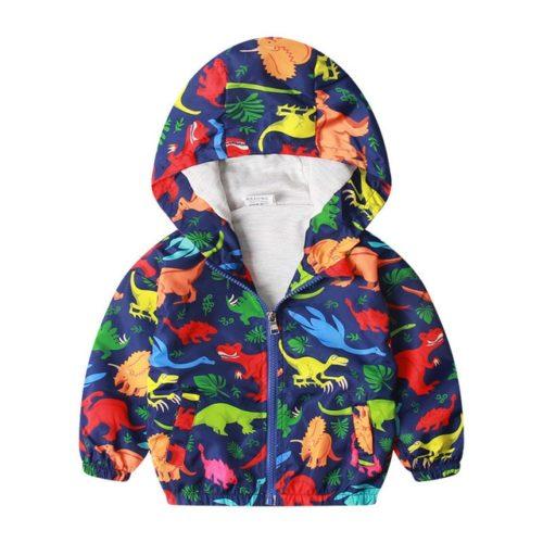 Boys Hooded Jacket Kids Outerwear