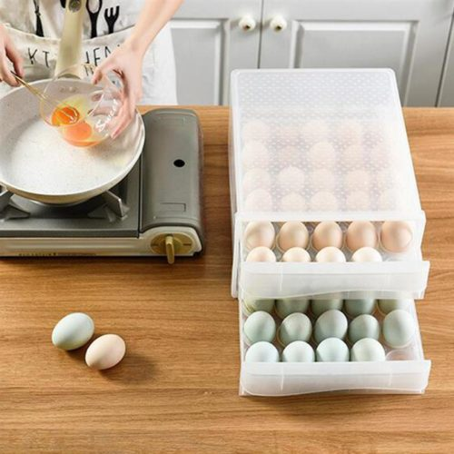 Egg Storage Container 60-Slot Box