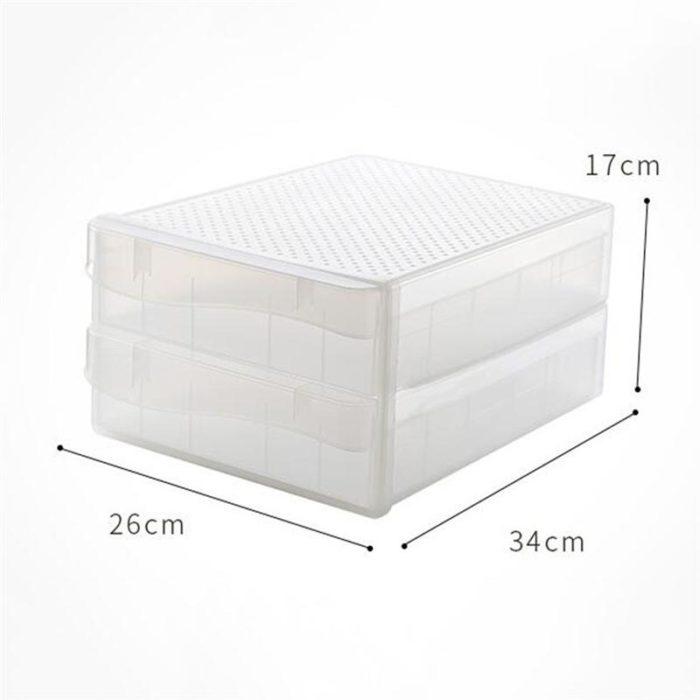 Egg Storage Container 60-Slot Box