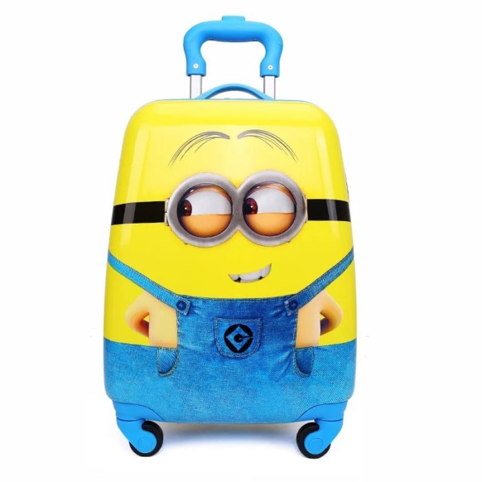 Kids Travel Luggage Cartoon Design