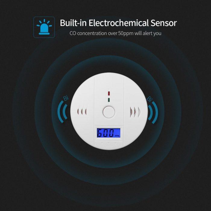 Carbon Monoxide Sensor Gas Detectorq