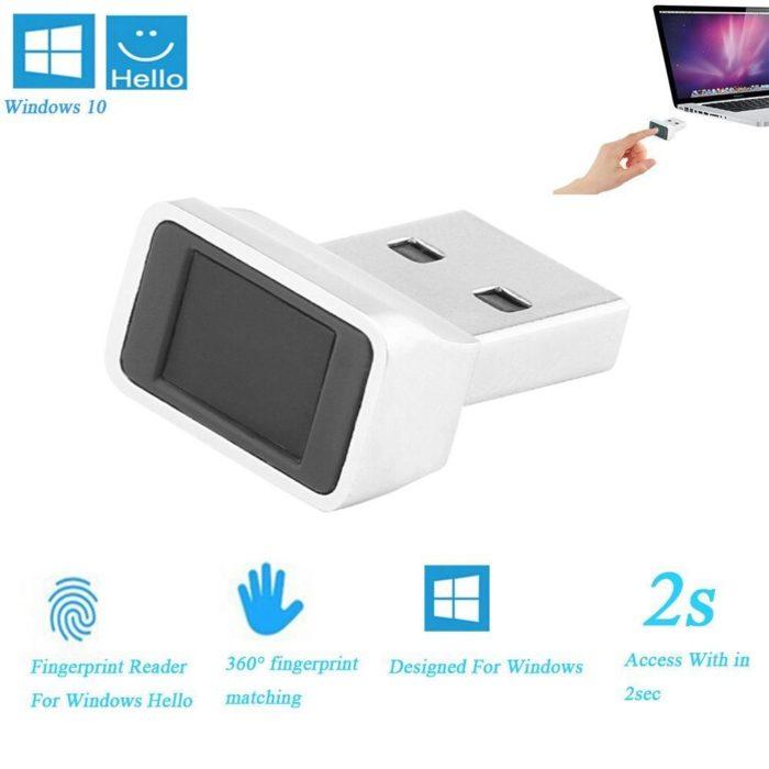 USB Fingerprint Reader Easy Log-in