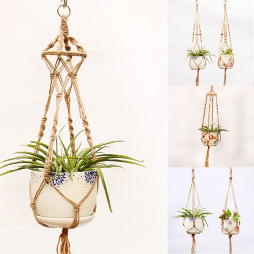 Macrame Plant Holder Hanging Decor