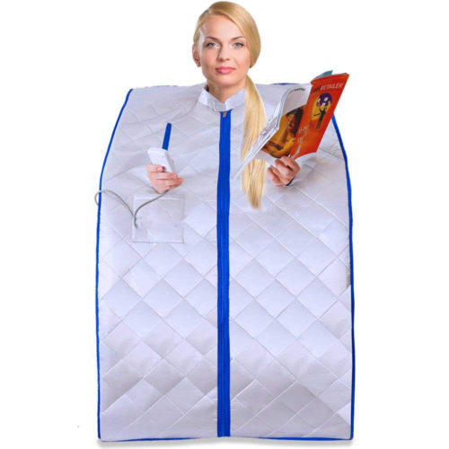Portable Infrared Sauna with Foldable Chair