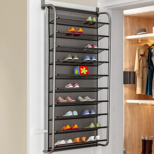 Door Hanging Shoe Rack Storage Organizer