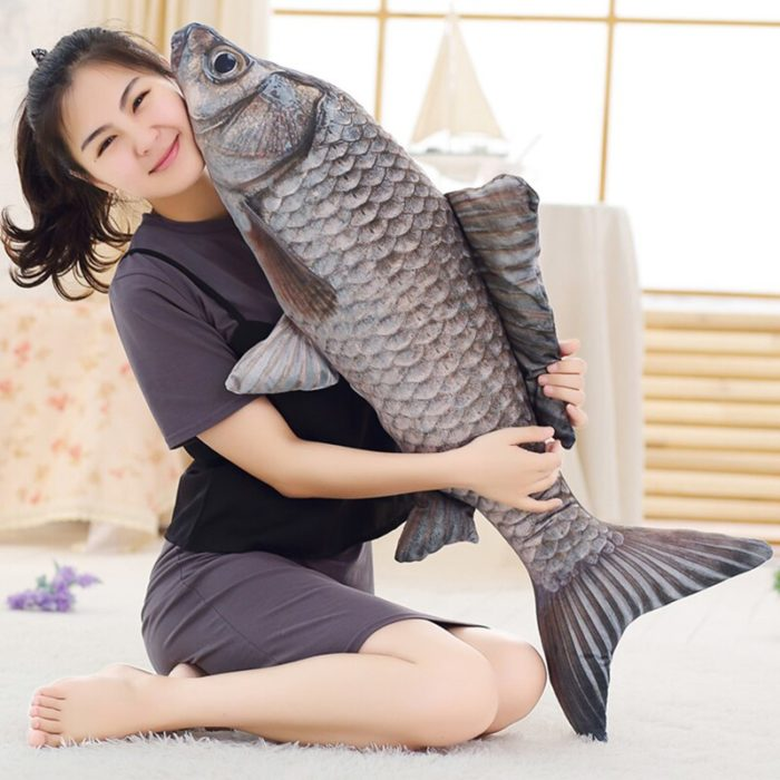 Fish Stuffed Animal Soft Fish Pillow