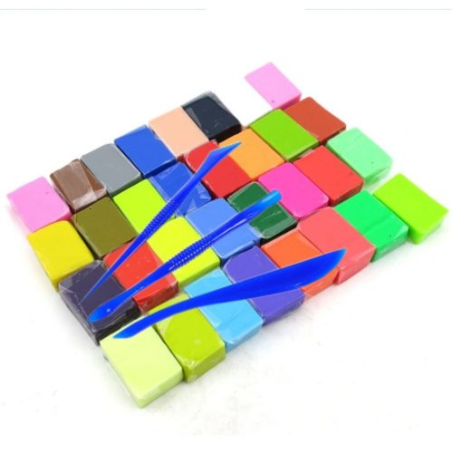 Oven Bake Clay 32-Color Polymer Set