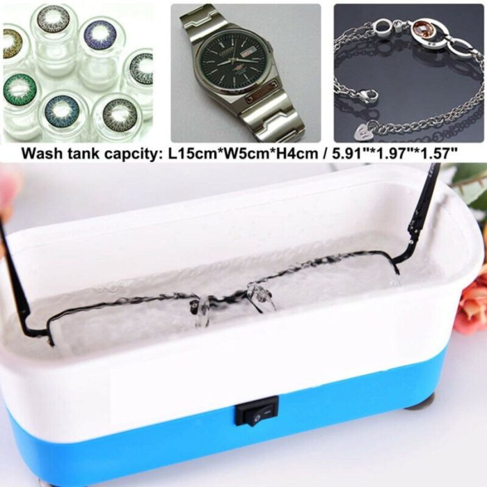 Ultrasonic Glasses Cleaner Accessories Sanitizer