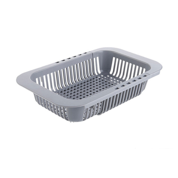 Drain Basket Retractable Strainer