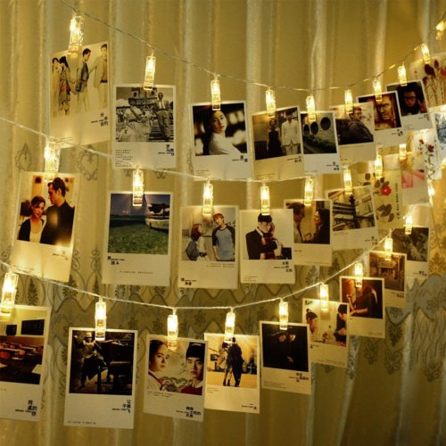 Photo String Lights LED Photo Clips