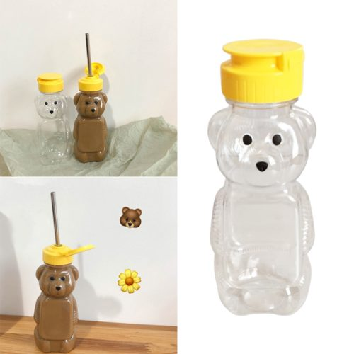 Honey Bear Bottle 240ml (12 pcs)
