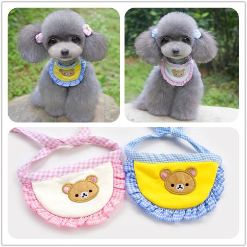 Dog Bib Wearable Pet Accessory