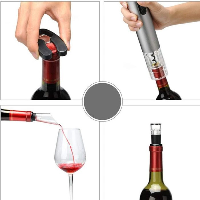 Wine Opener Set Electric Corkscrew