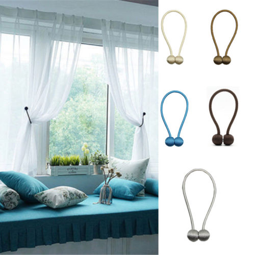 Magnetic Tie Back Curtain Clip
