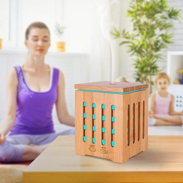Wood Humidifier 200ml Essential Oil Diffuser