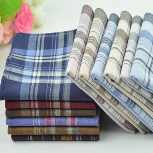Men's Hankies Pocket Handkerchief Set