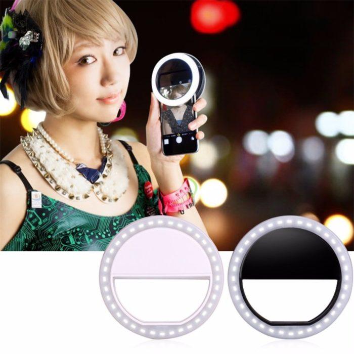 Ring Light for Phone LED Clip-on Light