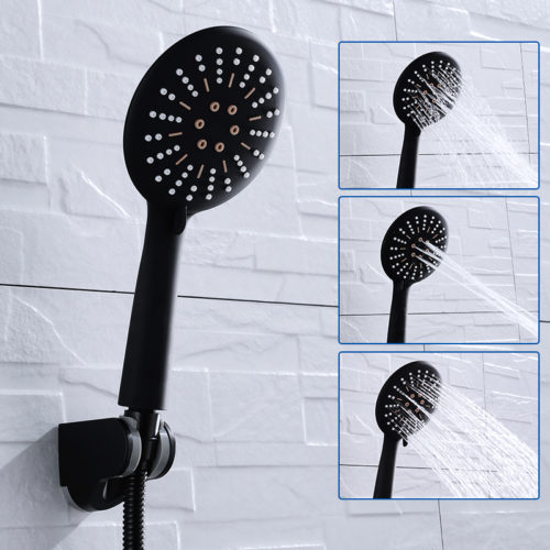 Black Shower Head 3 Functions