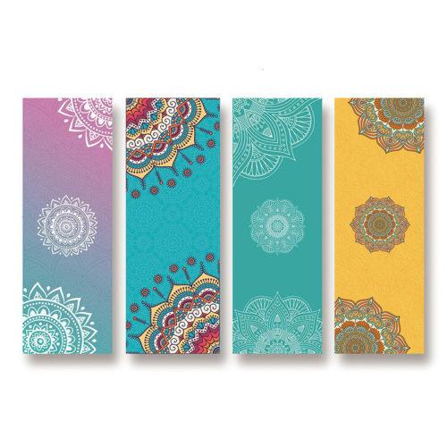 Printed Yoga Mat Floral Print Design