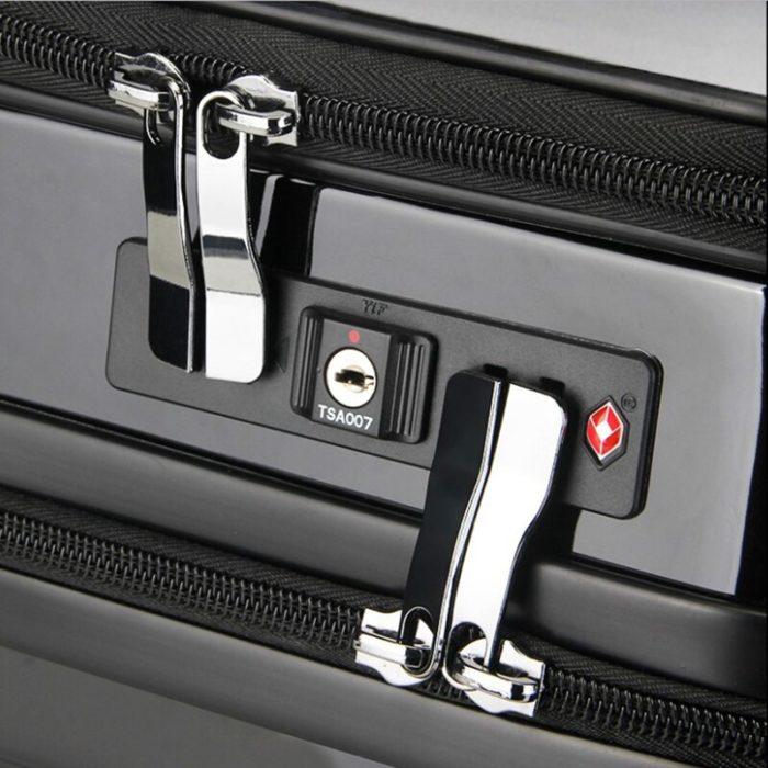 Rolling Luggage Hard Case Suitcase