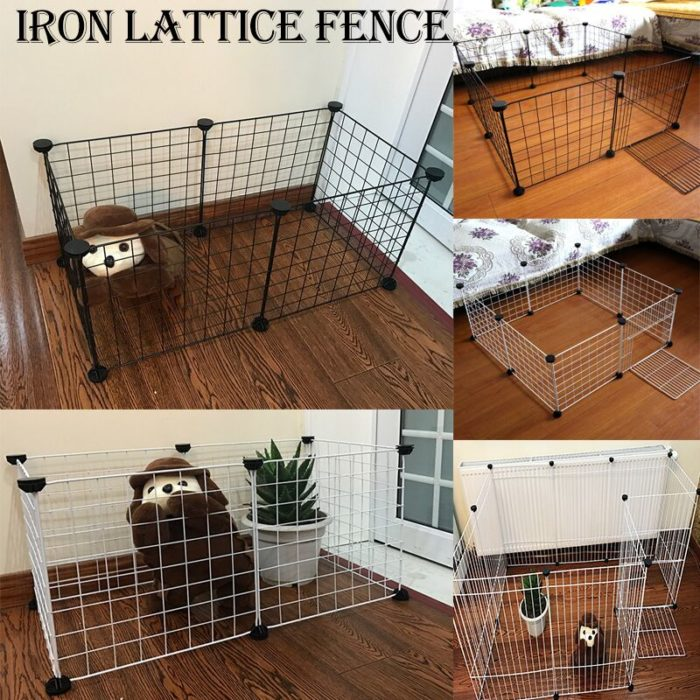 Small Dog Playpen Foldable Fence