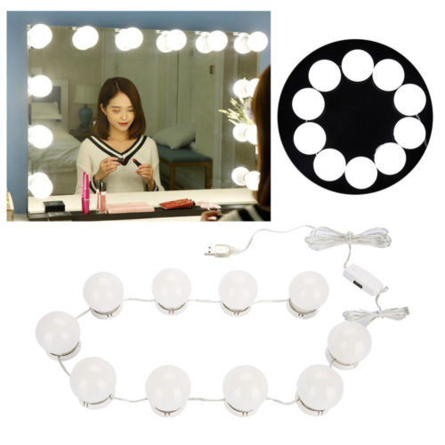 Vanity Mirror Light Bulbs (10 Bulbs / Strip)
