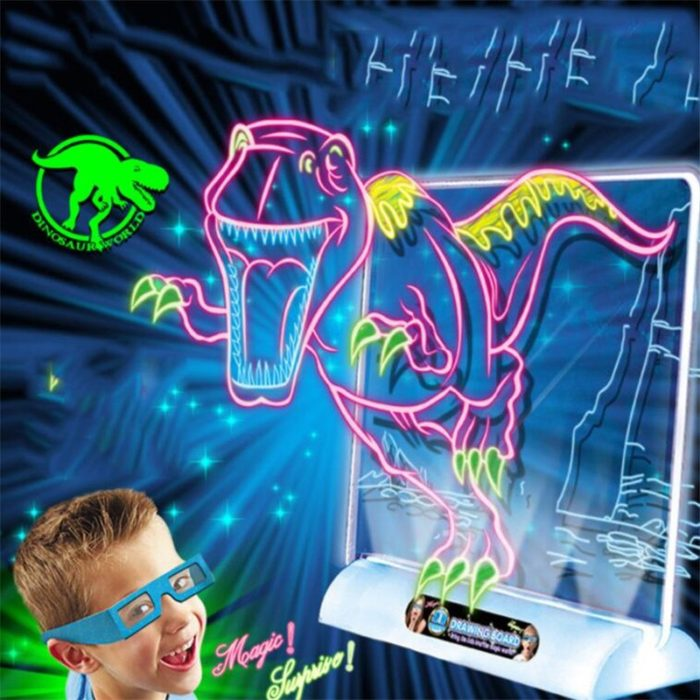 Light Up Drawing Board Doodle Pad