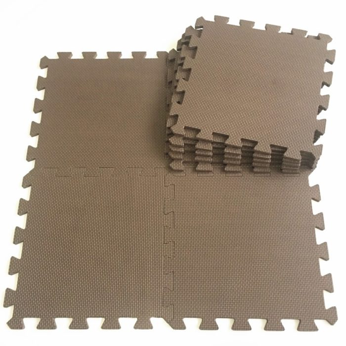 Interlocking Mats Puzzle Tiles (10Pcs)