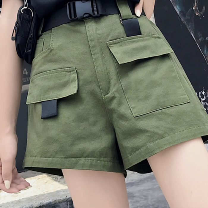 Womens Cargo Shorts Summer Casual Shorts