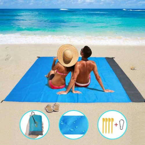 Sand-Free Beach Blanket Waterproof Mat