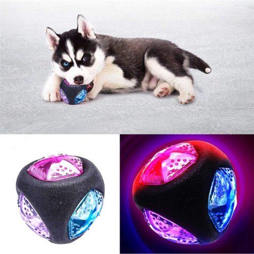 Light Up Dog Ball Bite-Resistant