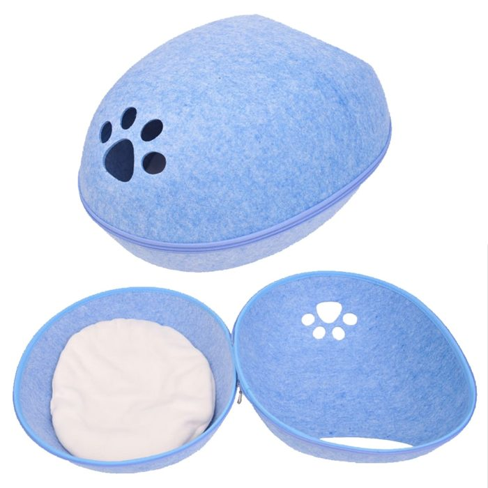 Cat Cave Egg Shape Design Pet Bed