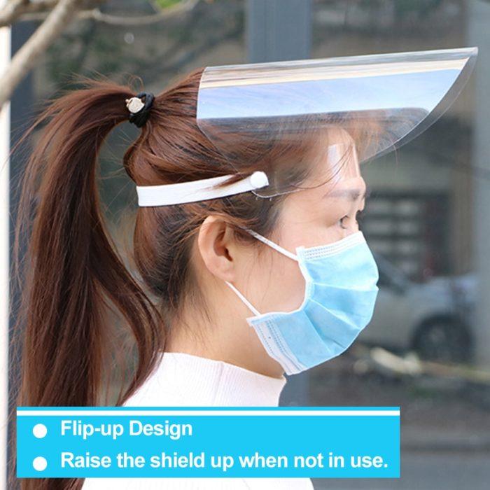 Face Shield Transparent Face Cover