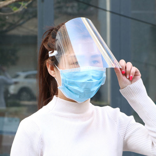 Face Shield Transparent Face Cover