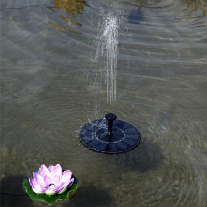 Pond Fountain Solar Floating Fountain