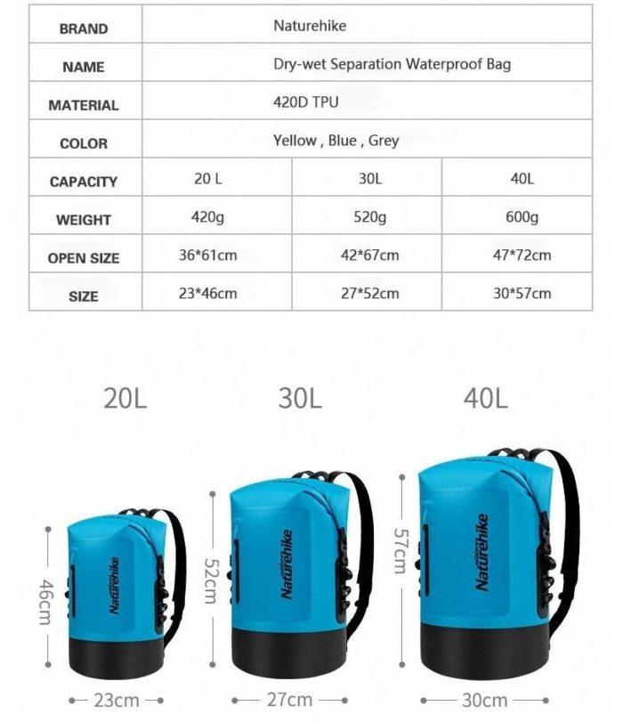 Waterproof Dry Bag Storage Rucksack
