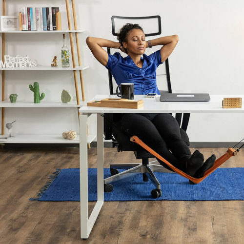 Desk Foot Hammock Foldable Swing