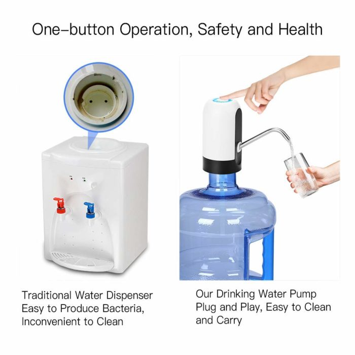 Water Bottle Pump Automatic Switch