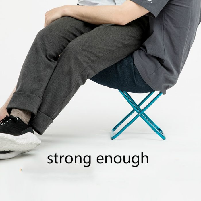 Fold Up Stool Lightweight and Portable