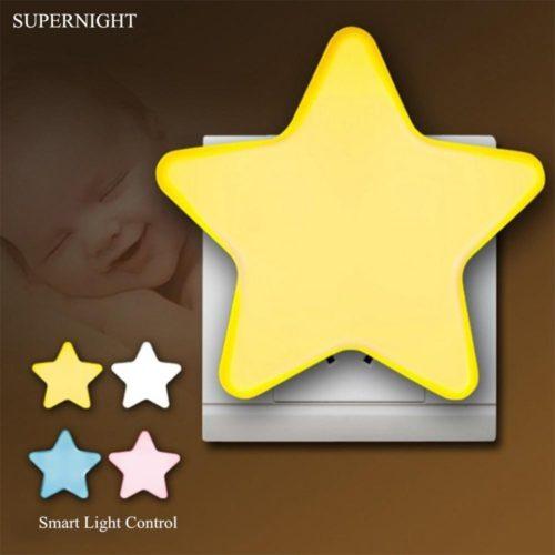Star LED Light Kids Bedroom Night Light